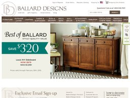 Ballard Designs Coupons Shipping